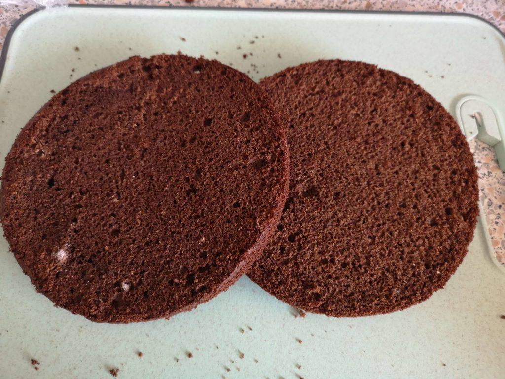 бисквит для торта шоколадный