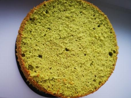 бисквит для торта фисташковый