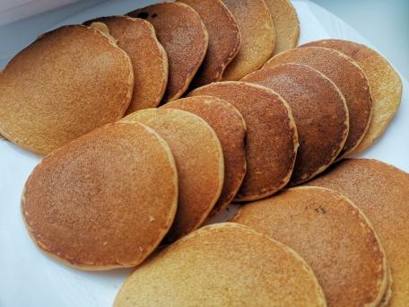 Вкусные и полезные панкейки из красной чечевицы