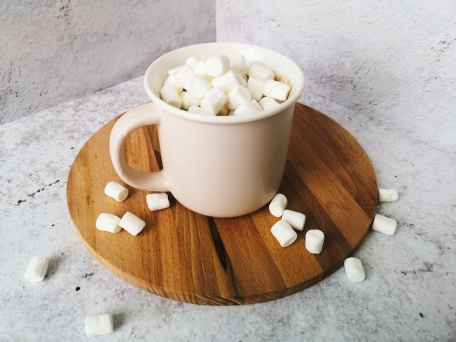 Горячий шоколад с маршмеллоу в домашних условиях