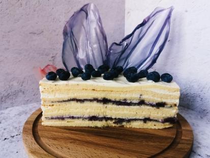 Нежный, легкий и воздушный торт Молочная девочка