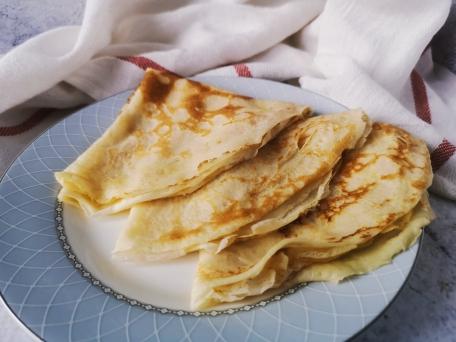 Вкусные блинчики по рецепту бабушки на молоке и сливочном масле