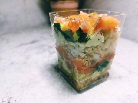 Знаменитый и популярный салат Суши три вида сборки