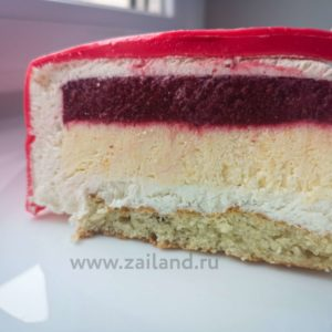 Торт Клубничный иогурт