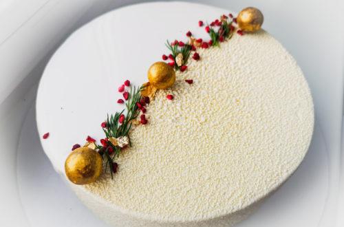 муссовый торт с покрытием велюр