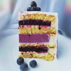 торт Ягоды и Миндаль