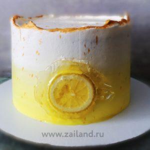 Торт Лимон и Ягоды