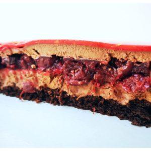Торт вишня- шоколад