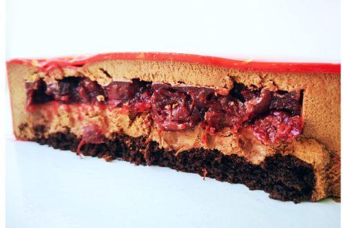 торт муссовый вишня шоколад