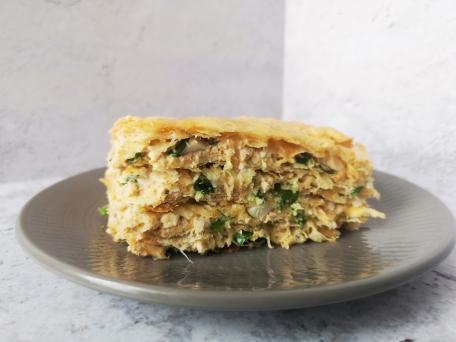 вкусный пирог с рыбой экспресс вариант, теперь еще быстрее