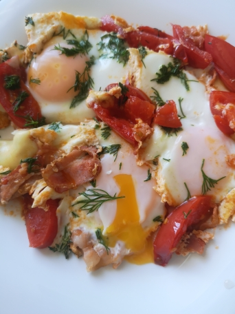 кето завтрак кето яичница рецепты кетогенной диеты