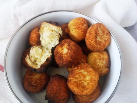 Жареные творожные пончики классический рецепт