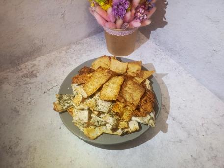 Хрустящие чипсы из лаваша - лучшая бюджетная закуска