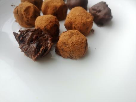 трюфель самый вкусный с клюквой в какао