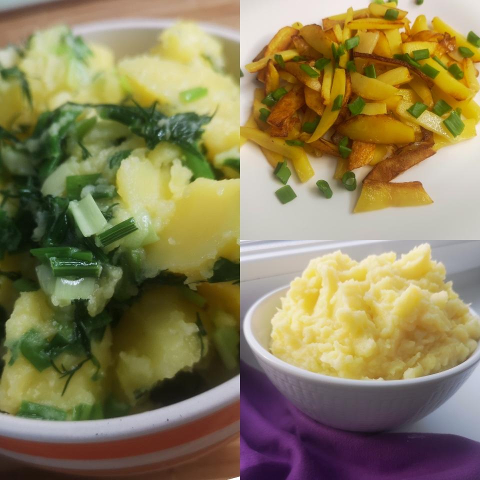 картошка вареная жареная и пюре вкусные рецепты