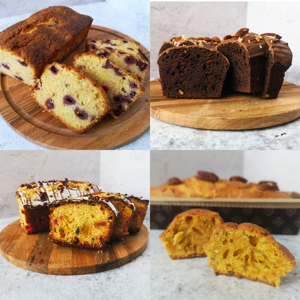 4 вида кексов на все вкусы