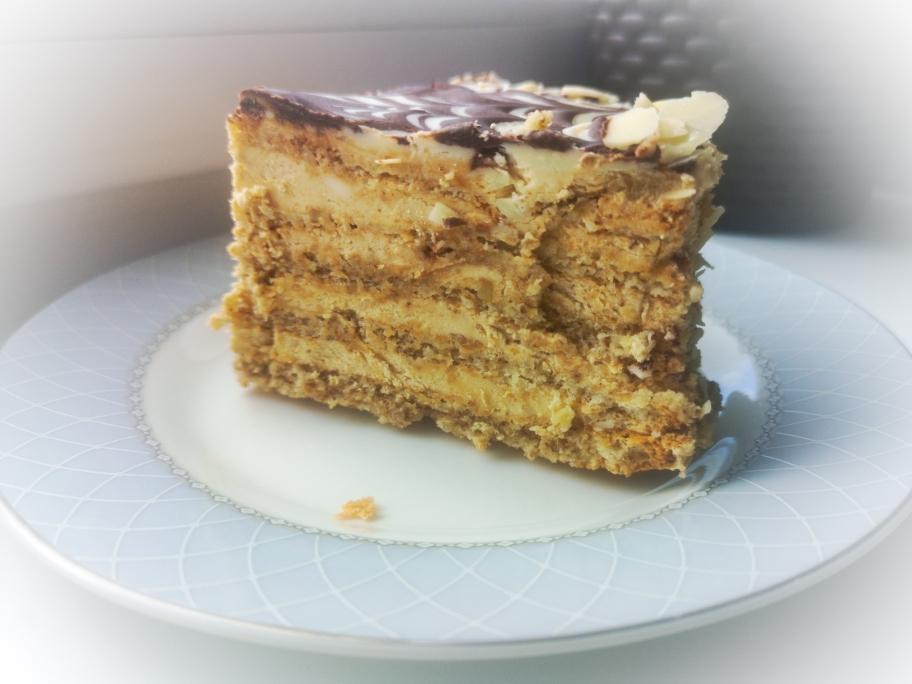 Эстерхази пошаговый рецепт орехового торта с заварным кремом